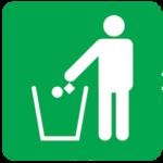 litter-on-road