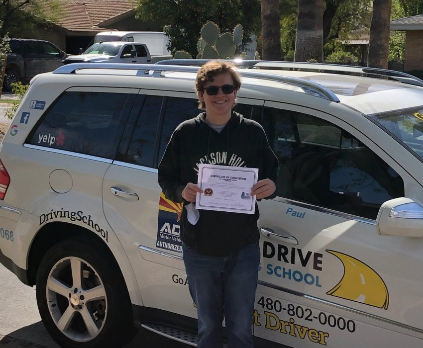 Congratulations to the new driver, Joshua! Enjoy all of the new twists and turns that life will send your way!