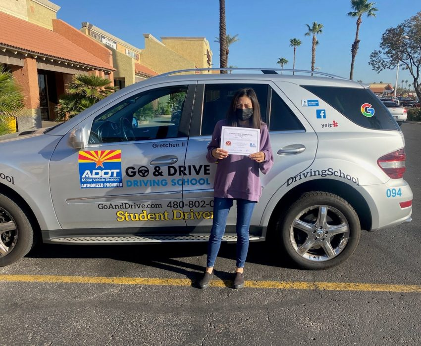 Jazmine,Yet another big moment in your life to celebrate. Congratulations and be safe on the road!