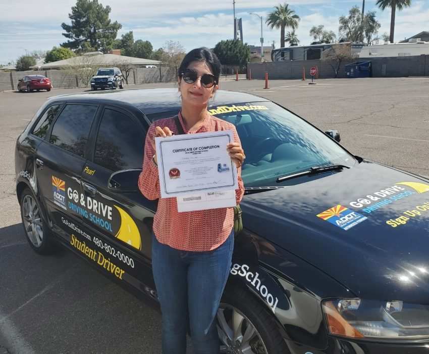 Mandeep, You've made it! Now you are ready to take on the twists and turns of the road and of life as well. Congratulations for passing the driving test.